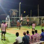 Tim Bola Voli Kelarik Gagal Taklukkan Tim Ranai Darat